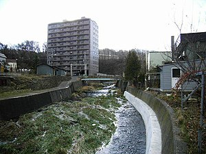 Zenibako River - The river going through town
