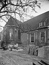 zicht op de zijgevel van de kapel van het gasthuis - amersfoort - 20009432 - rce