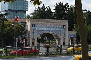 Zincirlikuyu - Main gate of Zincirlikuyu Cemetery