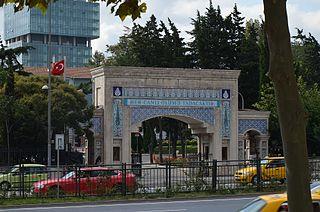 Zincirlikuyu Cemetery burial ground in the European part of Istanbul, Turkey