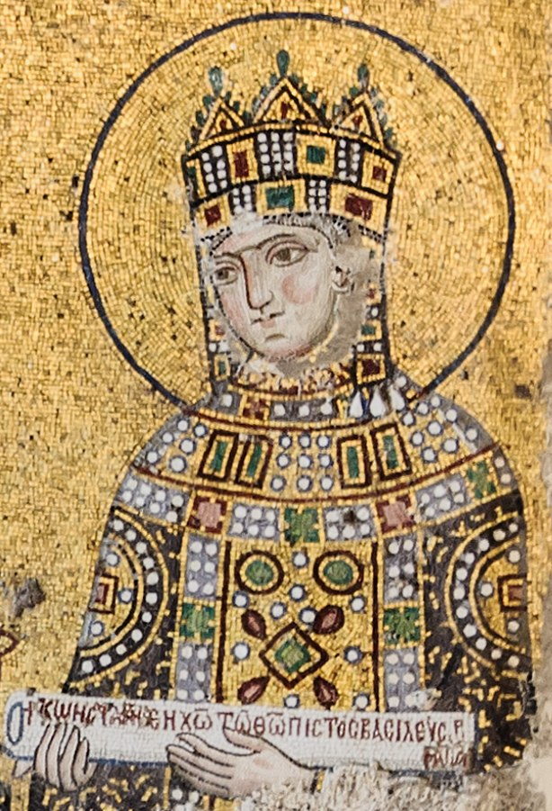 Zoe mosaic Hagia Sophia
