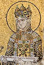 A mosaic of Empress Zoe