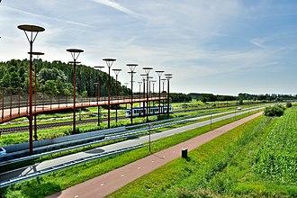 Randstad - A RandstadRail metro between Zoetermeer and The Hague