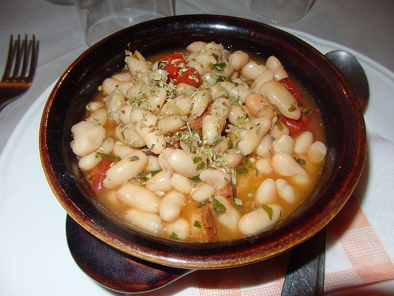 Comida típica de Florença, região da Toscana