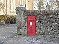 """EviiR"" postbox, Newtown, Lowther - geograph.org.uk - 635277.jpg"