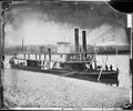 """Kingston"" (Transport Steamer) on Tennessee River - NARA - 528980.tif"
