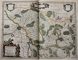 """""""Marchionatus Brandenburgici partes duae, Ruppin comitatus & Prignits regioncula - auct. Olao Iohannis Gotho..."""" (22070381028)"""