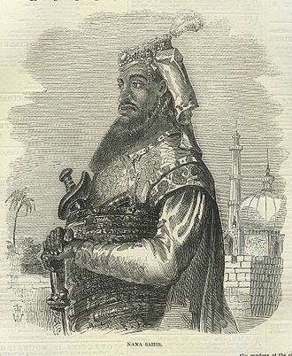 "Nana Sahib - A picture of ""Nana Sahib"" published in The Illustrated London News, 1857"