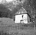 """""""Prestaja"""" pri Tomažu, last Kravanja Jožefa, Zadnjica - Trenta 1952.jpg"""