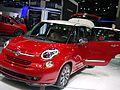""""""" 13 - Italian - Fiat 500L NA version - Detroit auto show 2013.jpg"""