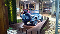 """ 15 - ITALY - Jeep (Fiat) stand in Milan - Willys MB - US NAVY - Seabees corp - U.S.N. NCB 540 blue convertible 4x4 04.jpg"