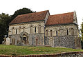 'Berfrestone' (DB) St Nicholas Church from south Barfrestone Kent England.jpg
