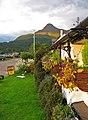 'Pap of Glencoe' and roadside cafe, A82, near Glencoe village. - panoramio.jpg