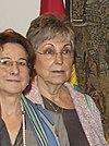 (María Encarnación Roca Trías) María Dolores Cospedal recibe al Pleno del Tribunal Constitucional (9014693693) (bijgesneden) .jpg
