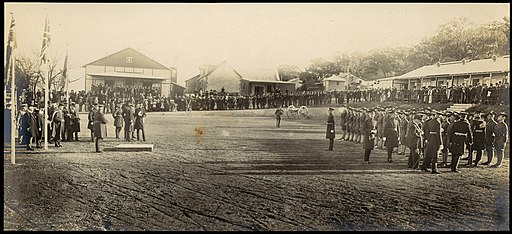 (Opening ceremony of the Royal Military College, Duntroon, 27 June 1911) (6173971152)