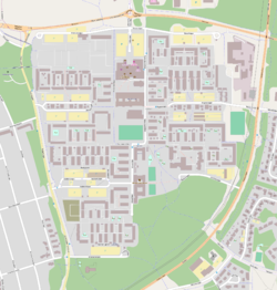 Map of Ålidhem, from OpenStreetMap
