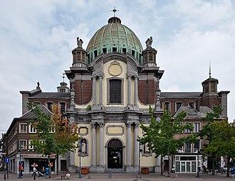 Charleroi - Saint-Christophe church