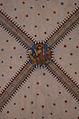 Église réformée Saint-Martin de Vevey - 16 - clef de voûte - Christ, Vierge et saint Jean.jpg