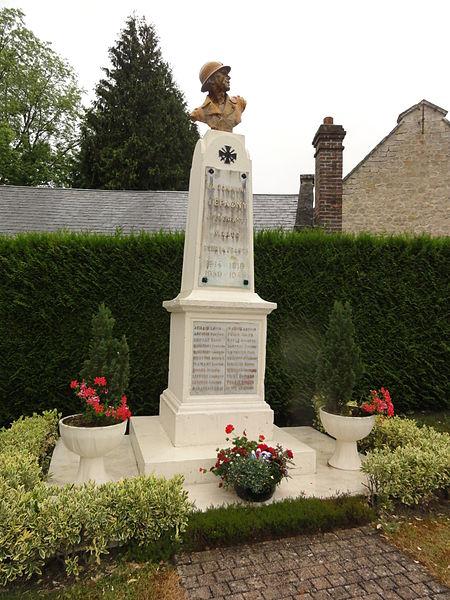 Épagny (Aisne) monument aux morts
