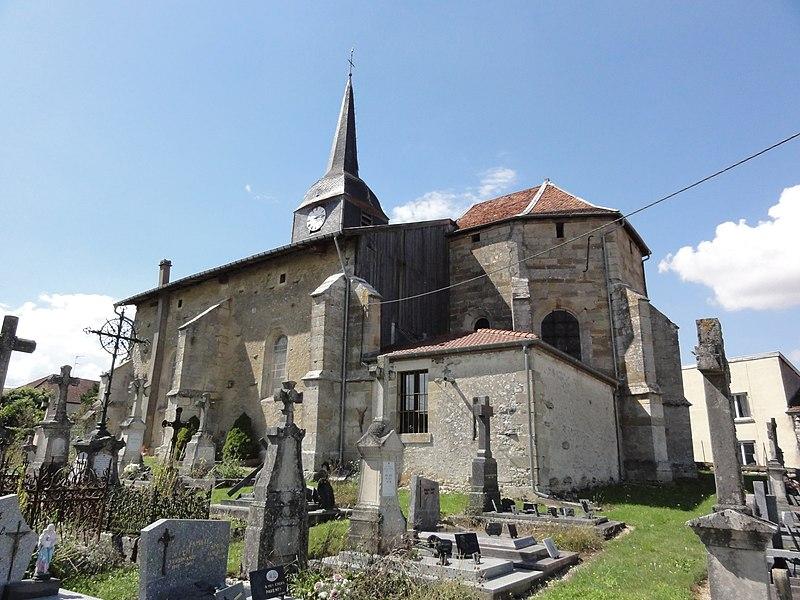 Érize-Saint-Dizier (Meuse) église  Churches in meuse