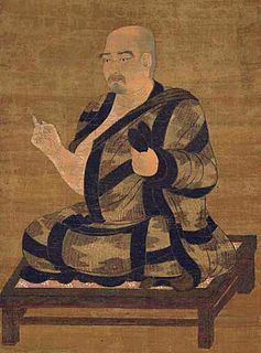 Buddhist monk and master of Esoteric Buddhism