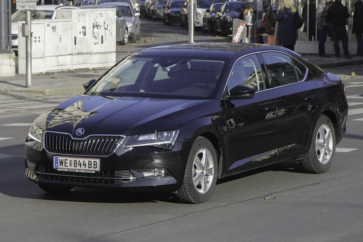Used Car Engines >> Škoda Superb - Wikipedia