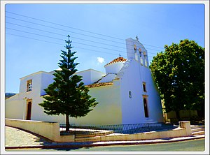 Church of Panagia Protothronos - The outside of the church