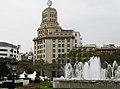 Барселона (Испания) Площадь Каталонии (фрагмент) - panoramio.jpg