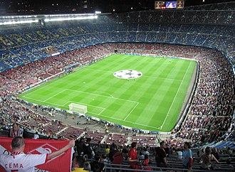 1988–89 European Cup - Image: Барселона (Испания) Стадион panoramio