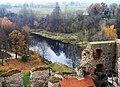 Бауска (Латвия) Вид на реку Мемеле - panoramio.jpg