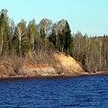 Берег Камского водохранилища выше Городища,Юсьвинский район, Пермский край - panoramio.jpg