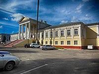 Валожын, флігель палаца Тышкевічаў, foto 2.JPG