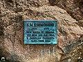 Дошка на мэмарыяльным камені К.Сіманава.jpg
