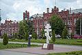 Здание железнодорожного вокзала 1903 года в городе Кропоткин Краснодарского края, Россия.jpg