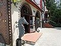 Здание пансионата «Ильзе», фрагмент, улица Октябрьская, 13, Светлогорск, Калининградская область.jpg