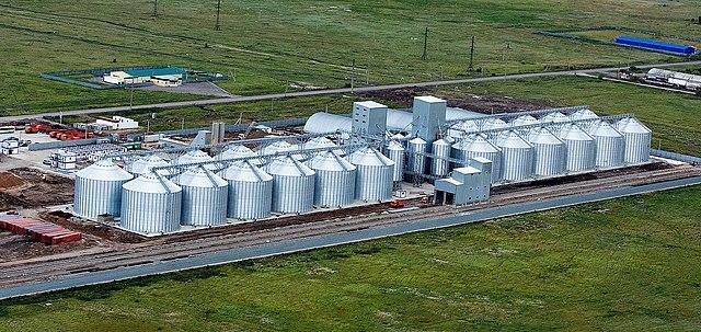 Размеры элеватора зернового машина с верхним транспортером