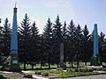Краматорск, могилы Лысенко, Сохрякова и Бугаёва.jpg