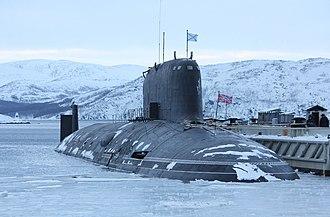Yasen-class submarine - Image: К 560 «Северодвинск»