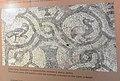 Народни музеј Лесковац - стална поставка, Времеплов лесковачког краја, мозаик из Доњег града, детаљ 2.jpg