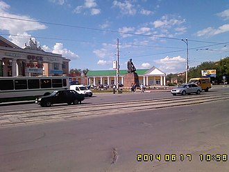 Orenburg Oblast - Image: Памятник Т.Г.Шевченко,г.Орск, Оренбургская обл. 01