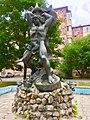 Скульптура-фонтан «Самсун», Славутич, Єреванський квартал.jpg