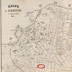Староконный рынок (Одесса) 1867.jpg