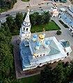 Храм Благовещения в Павловской слободе - вид с воздуха - panoramio.jpg