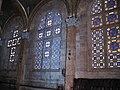 """כנסיית """"היגון"""" בירושלים - חלונות הכנסייה הסגלגלים.JPG"""