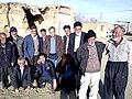 بعضی از ساکنان روستای گنجه ، گاپله ، شهرستان ازنا ۱۳۹۵ خورشیدی.jpg