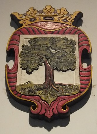 Colombo - Coat of arms of Colombo from the Dutch Ceylon era, depicting a mango tree.