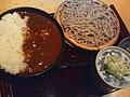 カレー丼とおそばのセット。 - flickr 1404783699 aefd4fe7cd o.jpg