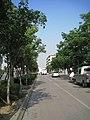 世纪大道西头——辅道 - panoramio.jpg