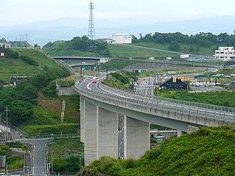 Keinawa Expressway - The Keinawa Expressway at Hashimoto-higashi IC in Hashimoto, Wakayama