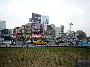East District, Tainan - Image: 東門路與林森路口